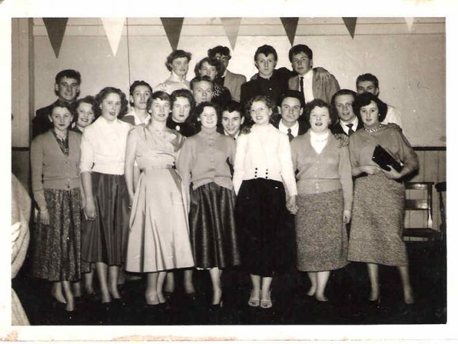Manor Farm Youth Club 1954 | From the private collection of Vic Bath