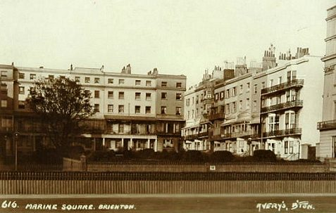 Marine Square, c. early 1900s. | From the private collection of Tony Drury