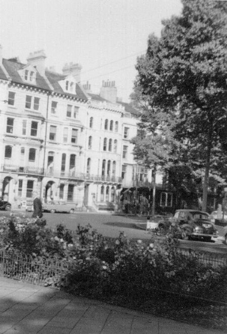 Marlborough Place, 1950s | Photo by Peter Bailey
