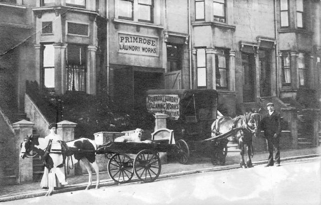 Primrose Laundry, Crescent Road | From the private collection of Brian Hough
