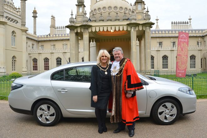 The Mayor and Mayoress of Brighton and Hove, Councillor Bill Randall  and Mrs Heather Randall | Photo by Tony Mould