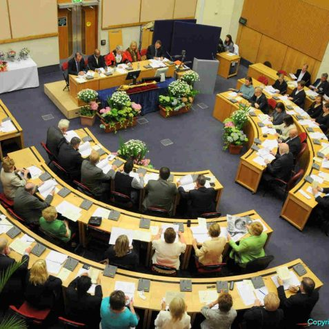 The Mayoral inauguration is held in the council chamber at Hove Town Hall | Photo by Tony Mould