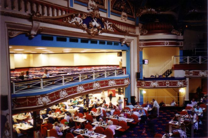 The Hippodrome when used as a bingo hall | Photo by Jonathan Swain