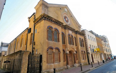Middle Street Synagogue: Exterior Grade II