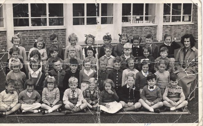 Class photograph c1954 | From the private collection of Michael Weller