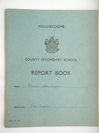 School report 1968-73 | Paul Clarkson