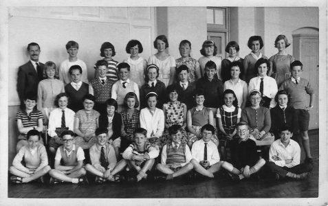 Class photograph c1962/1963