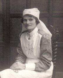Photo: My mum in her St John's Ambulance uniform | From the private collection of Tony Viney