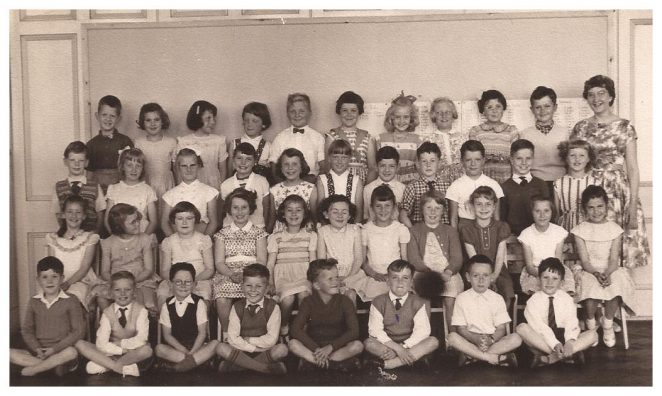 Class photo c1959/60 | From the private collection of Terence Hilton
