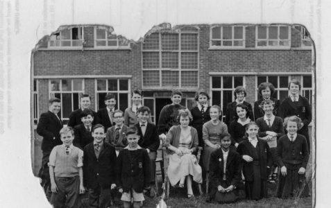Class photograph 1955