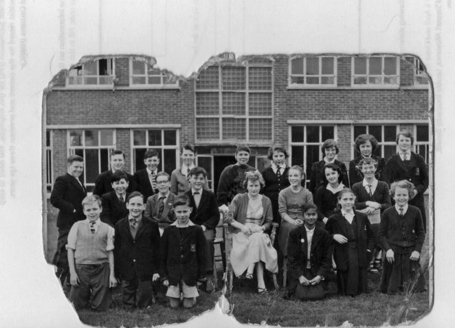 St Mary's RC School: class photograph 1955. Click on image to open large version. | From the private collection of Clarissa Granger