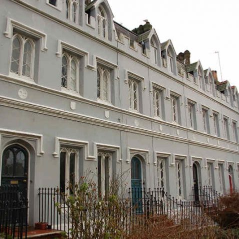 1-5 Wykeham Terrace; originally part of a home for prostitutes | Photo by Tony Mould