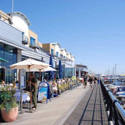 The Boardwalk, Brighton Marina | Photo by Tony Mould