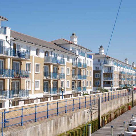 Luxury flats, Brighton Marina | Photo by Tony Mould