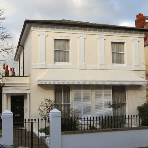 26 Clifton Road was probably designed by Wilds and Busby in the 1820s | Photo by Tony Mould