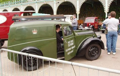 Rally of veteran commerical vehicles