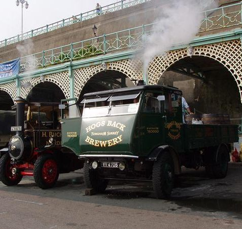 Lorries under steam | Tony Mould