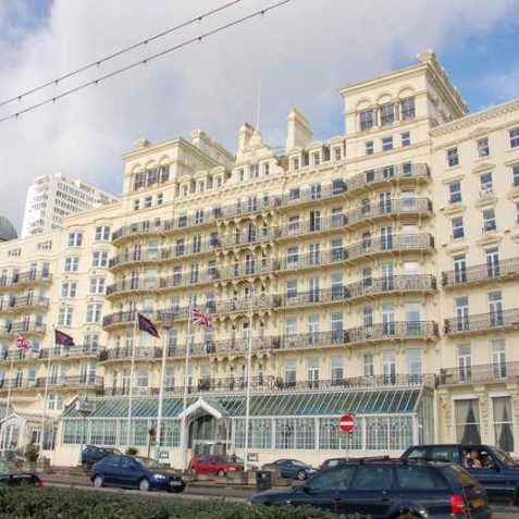 Grand Hotel: front view | Photo by Tony Mould