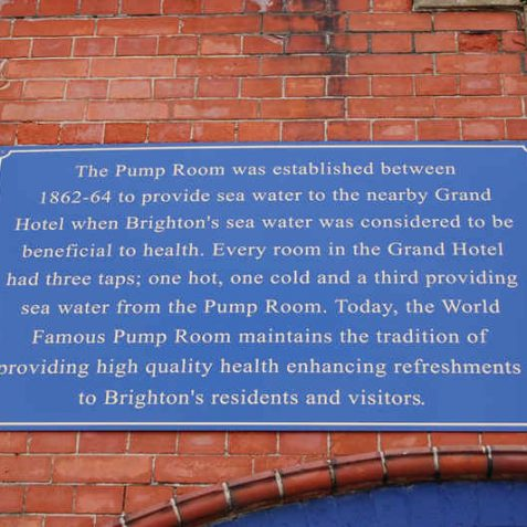 Pump Room sign | Photo by Tony Mould