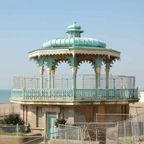 King's Road Bandstand erected in 1884 | Photo by Tony Mould