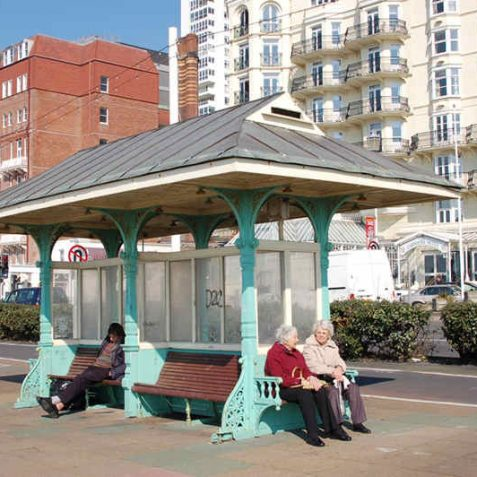 Promenade Shelter opposite the Grand Hotel | Photo by Tony Mould