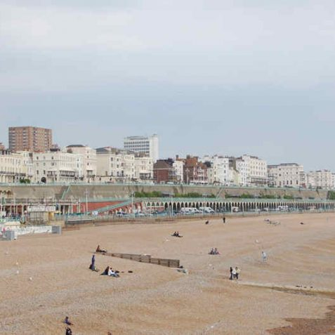 Marine Parade viewed from the Palace Pier | Photo by Tony Mould