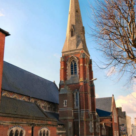 The Roman Catholic church of Mary Magdelan, in Upper North Street, is a listed building | Photo by Tony Mould