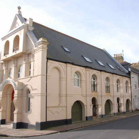 St George's Church Hall, Paston Place   Photo by Tony Mould