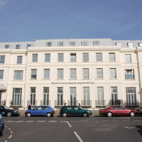 Formerly Pearson House, owned by St Dunstan's. Now owned by the NHS.   Photo by Tony Mould