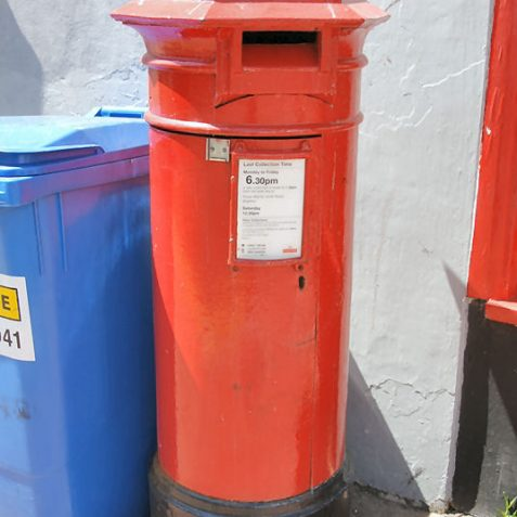 A 'Type A' pillar box at Montpelier Road/Western Road.  One of only four still in service. | Photo by Tony Mould