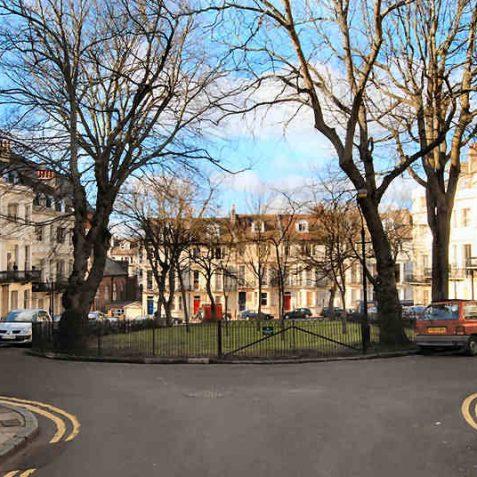Powis Square built c1850 | Photo by Tony Mould