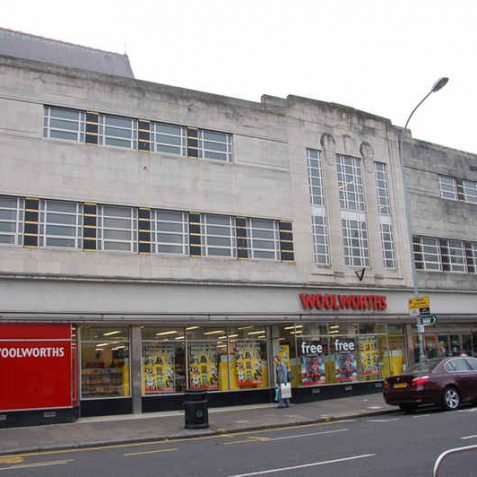 Woolworths store: formerly a drapers | Photo by Tony Mould