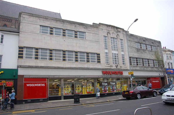 Woolworths photographed in 2007: now the '99p Shop' | Photo by Tony Mould