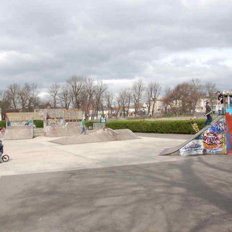 Skateboard park   Photo by Tony Mould