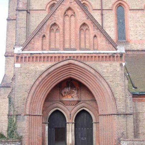 Entrance to St Martin's Church   Photo by Tony Mould