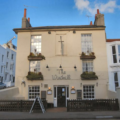 The Windmill pub, Upper North Street, dates from circa 1828. | Photo by Tony Mould