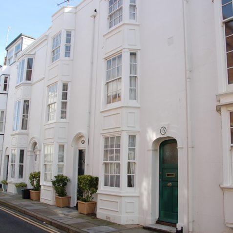 Wyndham Street, an attractive Regency terrace | Photo by Tony Mould