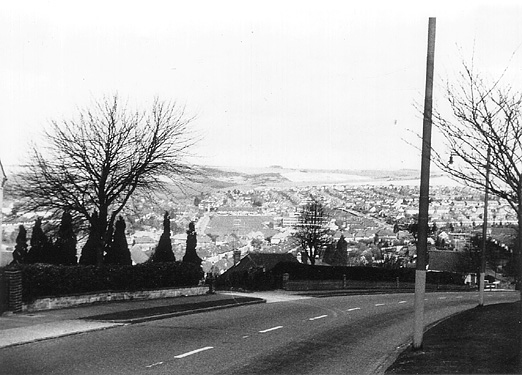 A view of the Mackie Estate and the Downs. | Photo sent by Martin Nimmo 25-01-03