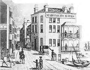 Mahomed's baths | Image reproduced with permission from the Black History website