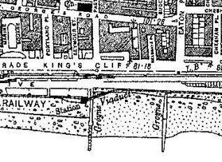 Banjo Groyne Map | From the OS Map of 1932