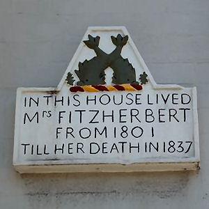 Maria Fitzherbert's plaque   Photo by Tony Mould