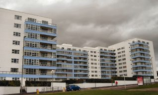 Marine Gate: 105 flats erected in 1937-39 | Photo by Tony Mould