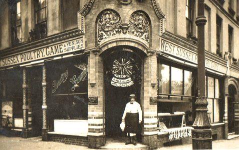 West Sussex Poultry Game & Venison Supplies c1918/21