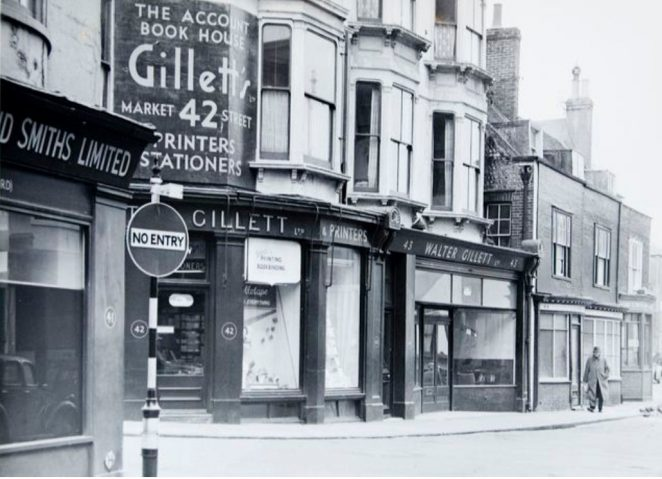 Market Street c1950s | Image reproduced with kind permission of The Regency Society and The James Gray Collection