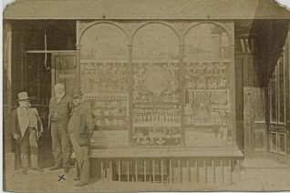Edward Martin's silversmith's shop 6, Bartholomews, undated | From the Dubois family collection