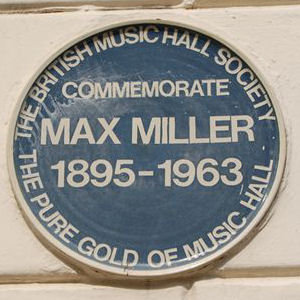 Max Miller plaque | Photo by Tony Mould