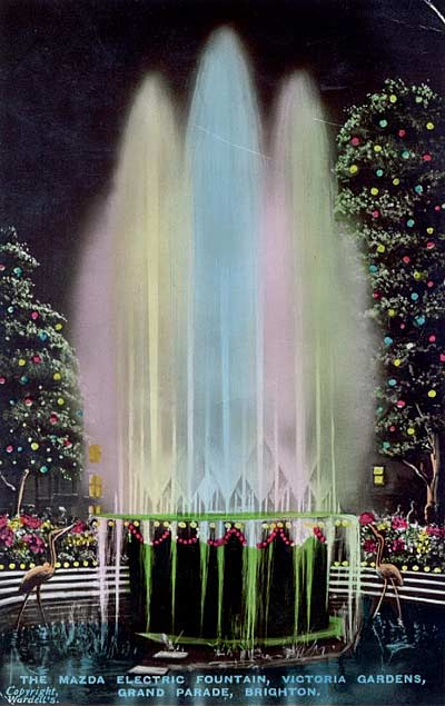 Mazda Fountain, Victoria Gardens, Brighton | From the private collection of Maralyn Eden