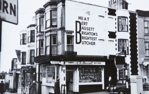 Bert Bassett's meat shop