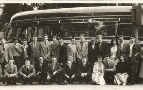 Brighton Messenger Boys' outing 1956
