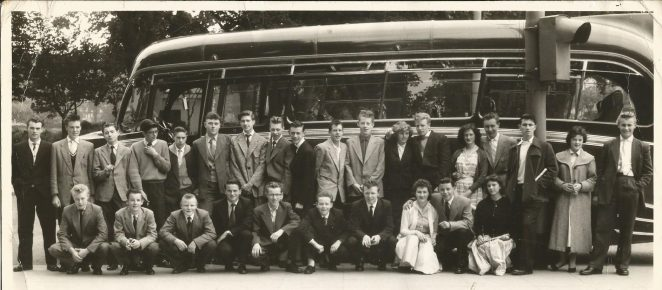 Brighton Messener Boys' outing 1956 | From the private collection of Doug Raynsford